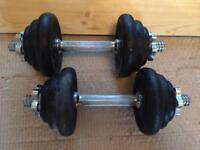 Dumbbell gym equipment