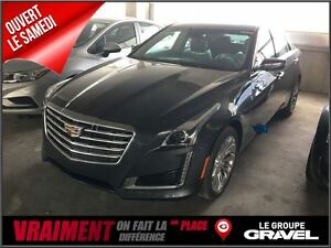 2017 Cadillac CTS LOCATION 355$/2 SEMAINES DEMO CTS LUXUARY BAS