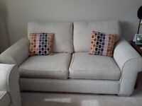 Vokins 2 seater sofa and armchair