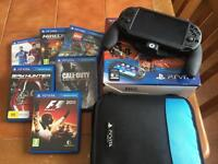 Sony ps vita with 7 games and 16gb memory card