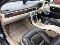 2009 VOLVO XC70 AWD D5 VERY RARE TWIN TURBO DIESEL MANUAL 205BHP DRIVES SUPERB