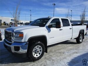 2018 GMC Sierra 3500HD Crew Cab 4X4 w/8' Box, 6.0L V8 Gas