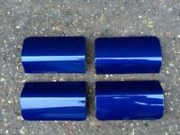 Ford Fiesta ST JACK POINT COVERS Blue (02 - 08) Zetec S Breaking Spares sideskirts jacking mk6