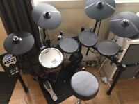 Roland TD-11K Electronic Drums with Stool, Kick Pedal and Sticks