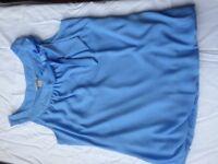 Womens sky blue sleeveless top - H&M - size s