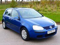 2005 VW GOLF 1.4 FSI (ONLY 60'000 MILES)