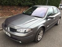 RENAULT LAGUNA ** AUTOMATIC ** 06 PLATE ** 70,000 MILES FROM NEW ** SATNAV **