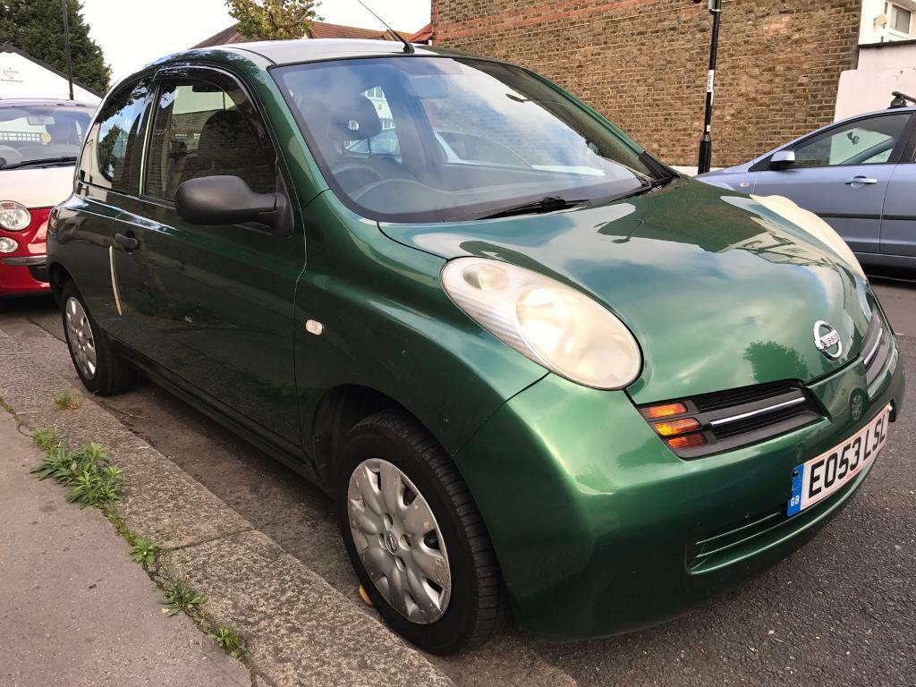 2003 Nissan Micra S 1.2 Automatic 3 Door Hatchback Auto Transmission