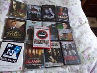 A varied group of 13 DVDs