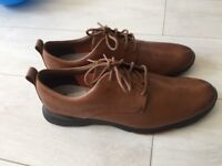 Clark's brown leather men's shoes size 11/46