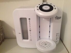 Tommee Tippee Perfect Prep Machine White 4 months old works perfectly beep disabled £20
