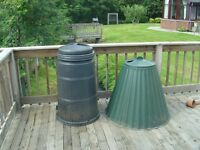 Two Compost Bins, both hardly used.