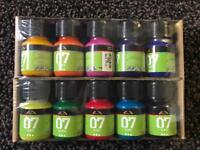Glass paint set 30ml x 10