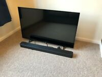 3 year old Philips TV and 2 year old Sony sound bar