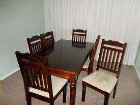 Dining Table 8 matching chairs