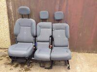 2014 Citroen belingo 3 seat set