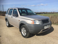 Land Rover Freelander 1.8 Petrol Spares or Repair