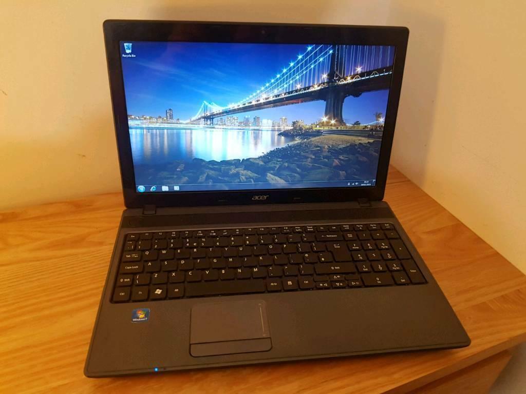 Acer Aspire 5250, AMD E300 Dual Core, 4GB DDR3, 320GB HDD, Radeon HD6310,  15 6