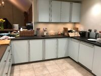 kitchen units and large drawers
