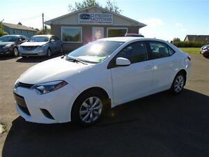 2015 Toyota Corolla LE Auto Loaded Backup Camera Heated Seats