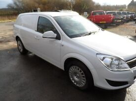 2009 VAUXHALL ASTRA VAN CLUB CDTI 59 PLATE WITH JUST 70,000 MILES , BODY MINT