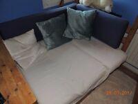 Sofa bunk bed - Blue