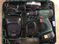 Bosch PSB 1800 LI-2 Cordless Drill Two 18 V Batteries