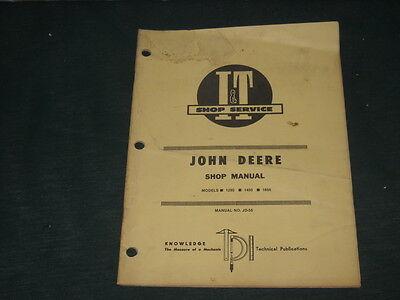 Original IT John Deere 1250,1450, and 1650 Manual