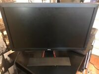 BenQ 24-Inch Gaming Monitor - LED 1080p HD Monitor - 1ms Response Time for Ultra Fast RL2455HM