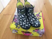 Joules Short Wellies