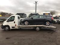 Car transport recovery
