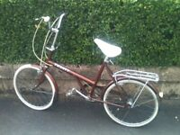 Bike Raileigh Twenty 1975