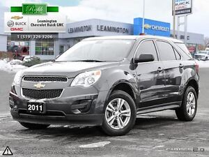 2011 Chevrolet Equinox CLEAN CARPROOF!! LOCALLY OWNED, JUST ARRI