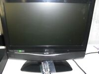 19 inch bush tv-dvd player in great condition