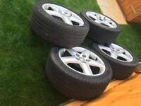 4X alloy wheel Audi A4 235/45R 17 97W &A5 &A3& A2& A1 &Vw