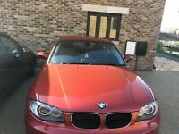 BMW 1 series coupe. One owner: female driver.