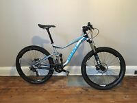 Giant trance 1 2014 medium mountain bike fizik schwalbe truvativ