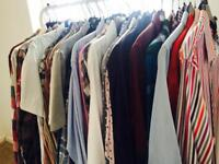 Men's designer clothing job-lot shirts t-shirts shoes suits jeans chinos jumpers