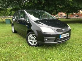 2006 FORD C-MAX ZEETEC 2.0 PETROL HATCHBACK** AUTOMATIC ** NEW MOT ** ONLY 62000 MILES