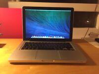 Macbook Aluminum Unibody laptop with 8gb ram pro memory in full working order