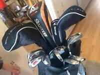 Full Slazenger golf set (bag included
