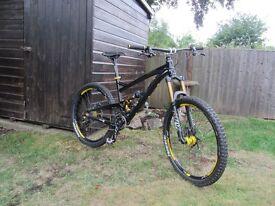 Saracen trail bike