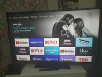 50 inch JVC smart tv