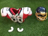 American Football NFL pads
