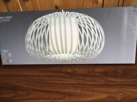 Brand New in Box NEXT AURA Pendant Lampshade Light shade easy fit Green MINT