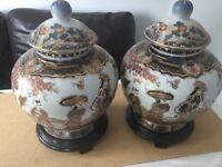 Pair of Chinese vase - urn