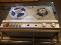 Rare Marconiphone two track reel to reel tape machine