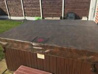 L.A Spas 7 seater hot tub