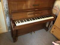 Old piano for sale and collection only