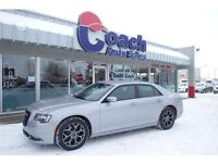 2015 Chrysler 300 S AWD w/Leather Seats, Backup Cam, 26,197 KMs